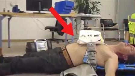 自动心肺复苏机, 放上就自动按压, 手法专业, 不会的人也能救人
