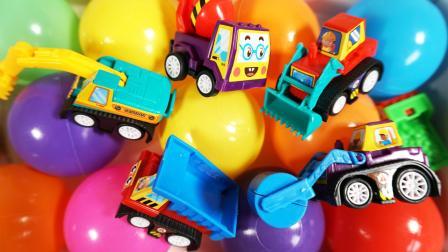 学习认识压路机 装载机 铲车等6种汽车趣味识汽车