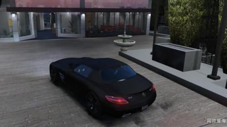 [琴爷]GTA5MOD:梅赛德斯奔驰回到阿莫拉海的豪宅! 超棒后视镜! 06