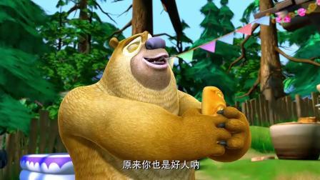 """熊二从没吃过这么好吃的面包, 简直就是""""舌尖上的狗熊岭"""", 美味无比"""