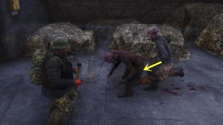 人渣SCUM 25 暗墨作死一个人去军事基地玩被僵尸围殴