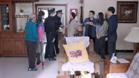 丈母娘带着警察来到女婿家,谁知女婿拿出一个证,警察立马就走了
