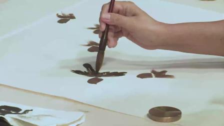 仁美大学堂徐湛教授《中国传统花鸟绘画技法》讲座视频 (十一)