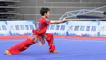 2018年全国武术套路冠军赛 男子枪术 007 吴忠(河北)第四名