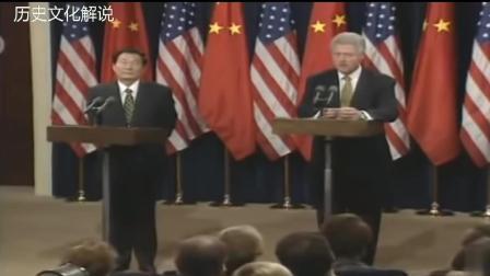 朱镕基总理用林肯举例, 迫使美国总统承认台湾问