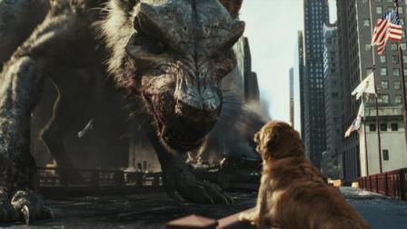 动物变异出的远古巨兽, 十分残暴, 一切建筑实物在它面前都像泡沫