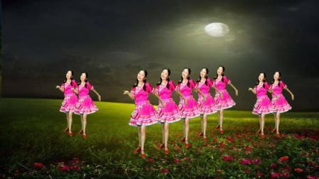 醉美情歌对唱广场舞, 新版《阿哥阿妹》, 阿妹住在月亮里, 太好听