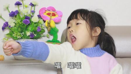 爆笑萌娃: 女儿不听爸爸的话, 还想学武术与爸爸对抗?