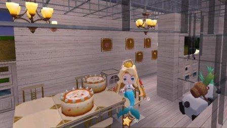 迷你世界酱子解说 第一季 桌子上的美味蛋糕