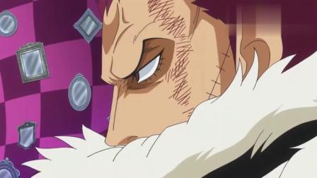 海贼王: 路飞vs卡塔库栗, 打了几集了还在挨打, 用身体感受见闻色!