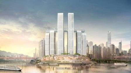 重庆投资240亿的超级新地标——朝天门来福士广场