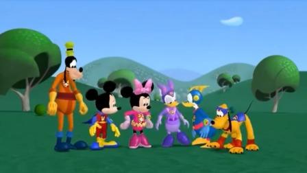 米奇妙妙屋:魔老大毁了所有的东西,还把皮特变小了!