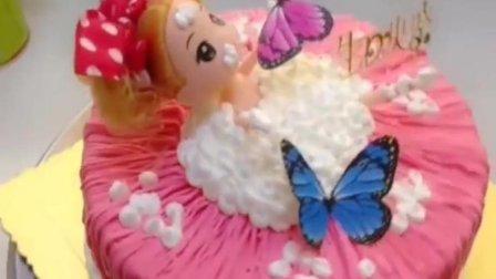 美少女生日蛋糕做法, 满足你的公主梦