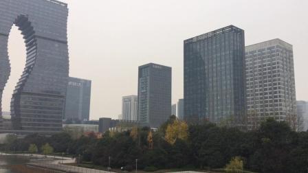 杭州滨江区实拍, 人均GPD与上海黄浦区不相上下, 高楼林立!