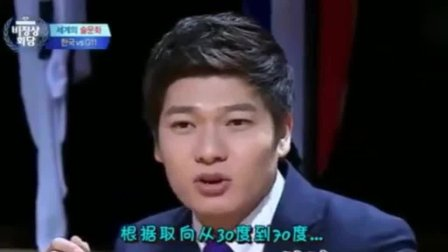 非首脑会谈: 在韩国综艺里, 主持人和各国嘉宾都