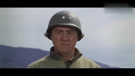 巴顿将军率领美军伏击德军, 德军四号坦克大战美军谢尔曼坦克!