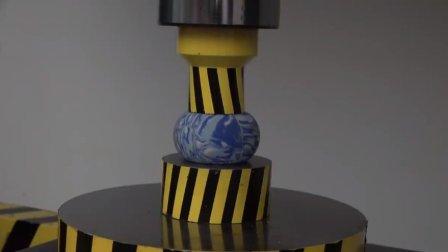 面对液压机, 到底是以柔克刚还是以钢硬碰硬, 看