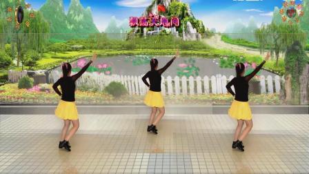阳光美梅原创广场舞《阿哥阿妹》水兵舞-背面演示-编舞: 美梅-最新广场舞