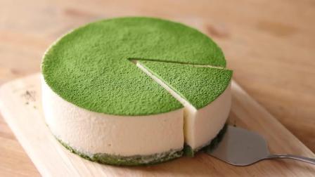制作美食之抹茶蛋糕