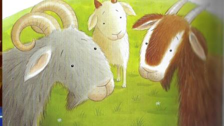 The Three Billy Goats Gruff | Can Cubs storytime
