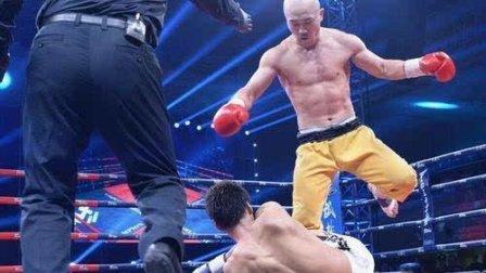 武僧一龙遭遇最搞笑的对手, 张牙舞爪的拳法, 解