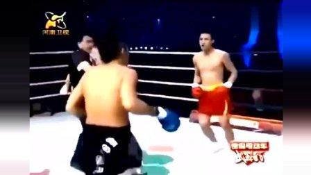 日本拳手头顶国旗疯狂挑衅对手, 中国拳王的回应太残暴了!