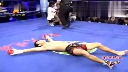 日本拳手嚣张放话要KO中国人, 30秒后差点后悔都来不及!