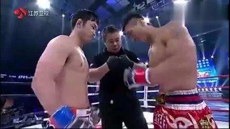 日本挑衅中华, 业余拳手出战 被中国猛男8秒KO