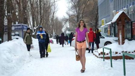 冬天这么冷, 俄罗斯人是怎么过冬的? 看完知道什么叫战斗民族!