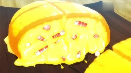 异世界食堂: 蜥蜴人纠结三份蛋包饭吃哪一种, 洋葱芝士或者奶油虾!