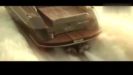 这才是经典冒险枪战片, 奥斯卡影帝驾豪华飞艇枪林弹雨中一路狂飙