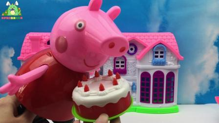 佩奇吃草莓蛋糕, 披萨, 在来点巧克力