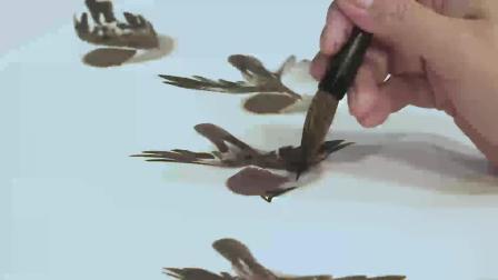 仁美大学堂徐湛教授《中国传统花鸟绘画技法》讲座视频 (十二)