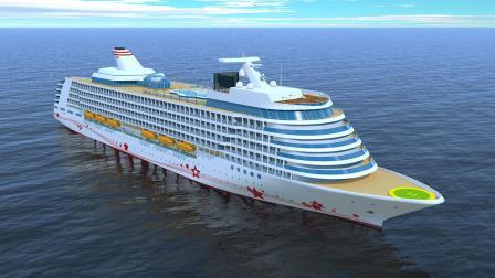 中国超大型邮轮顺利建成, 30万吨级! 足以打破日韩的垄断!