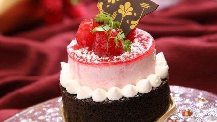 简单又美味的双色草莓蛋糕(第4集), 快尝尝吧