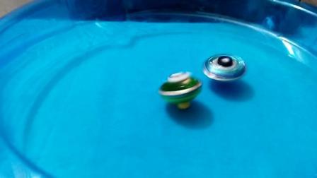 霹雳神驹VS山河灵丸陀螺玩具战斗王飓风战魂和劲爆战士奥特曼PK爆裂飞车战队 第16期!
