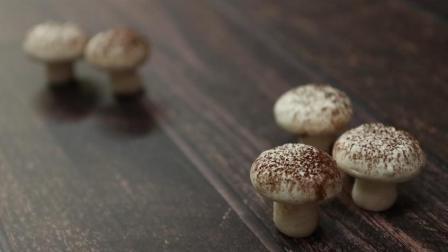 酥脆好吃的蘑菇糖饼干, 简单的食材也能做出有趣的甜点