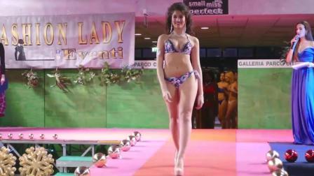Galleria Parco巴黎时装周比基尼泳装秀, 青春时尚的模特, 演绎时尚张扬的性感!