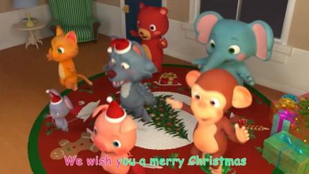 祝你圣诞快乐 大灰狼