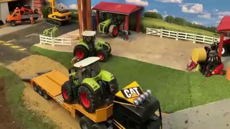 力量超大的履带挖掘机工程车亲子益智玩具视频分享