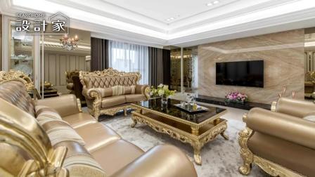 新古典风格装修案例 装修公司一条龙服务打造一眼看不尽的豪宅风情