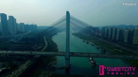 航拍万里长江第一城----四川宜宾