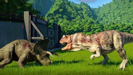 肉食恐龙横扫侏罗纪公园! 【侏罗纪世界: 进化】Ep02