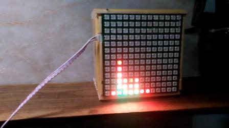 LED灯珠WS2812显示频谱