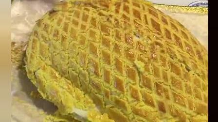 风味人间: 网红面包鸡, 切开之后我更想吃外面的面包