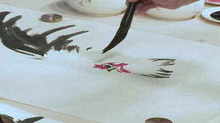 仁美大学堂徐湛教授《中国传统花鸟绘画技法》讲座视频 (十三)