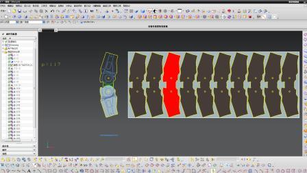 五金模具设计-UG全3D模具设计中产品展开与排工艺?