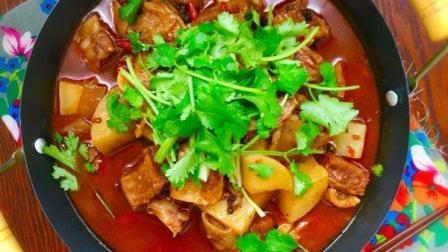 冬季滋补首选菜, 萝卜炖牛腩, 营养美味超解馋