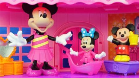 米老鼠和米妮的多层大房子米奇妙妙屋玩具