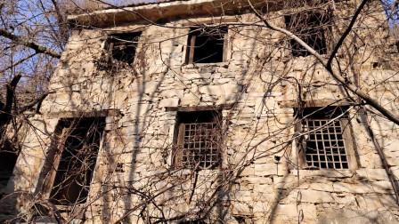 封门村的豪宅是这样的结构, 这户人家以前一定是大户人家